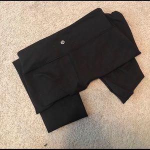 Black Lululemon pants